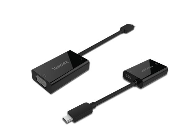 Toshiba USB-C to VGA with Power Delivery (PA5270U-1PRP)
